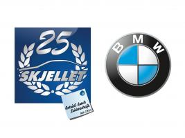 Skjellet BMW
